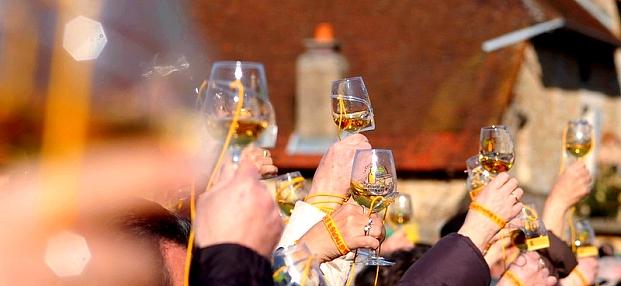 La Percée du Vin Jaune 2016 devrait encore connaître un grand succès. / © Photo Jura Tourism